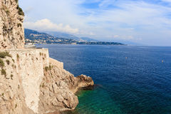 Seascape French Riviera Royalty Free Stock Images
