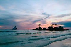 Seascape frio Imagens de Stock Royalty Free