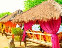 Seascape, Gil powietrze, Indonezja zdjęcia royalty free