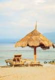 Seascape, Gil powietrze, Indonezja fotografia stock