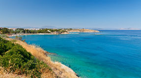 Seascape in Greece Royalty Free Stock Image