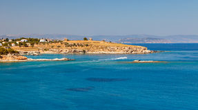 Seascape in Greece Royalty Free Stock Photo