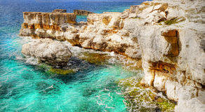Seascape in Greece Stock Photography