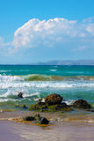 Seascape, Greek, the Crete Royalty Free Stock Image
