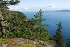 Seascape in gulf islands national park royalty free stock photography