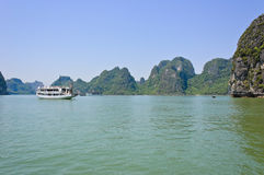 Seascape of Halong bay Stock Images