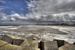 Seascape Holland Stock Photo
