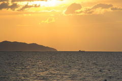 Seascape horyzontalny Obraz Stock