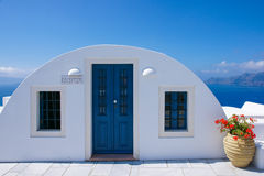 Seascape Hotel. The greate seascape hotel of Greece island Royalty Free Stock Photos