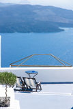 Seascape Hotel. The greate seascape hotel of Greece island Stock Photos