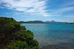 Seascape i Cannigione Royaltyfria Foton