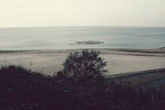Seascape i Lettland Royaltyfria Bilder