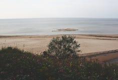 Seascape i Lettland Fotografering för Bildbyråer