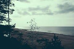 Seascape i Lettland Royaltyfri Fotografi