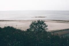 Seascape i Lettland Royaltyfria Foton