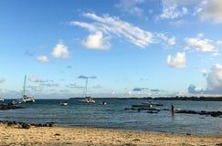 Seascape i storslagna Baie, Mauritius Royaltyfri Fotografi