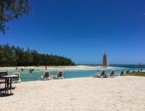 Seascape i storslagna Baie, Mauritius Royaltyfria Foton