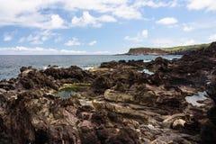 Seascape i terceria royaltyfri foto