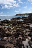 Seascape i terceria arkivbilder