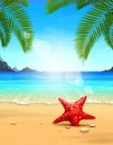 Seascape  illustration Stock Photo