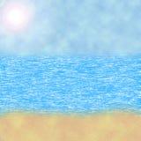 Seascape ilustracja. ilustracji