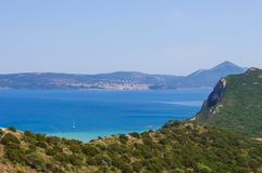 Seascape of Ionion sea Royalty Free Stock Photo