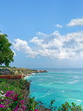 Seascape, island of Bali, Indonesia. Seascape, ocean horizon seen from island of Bali, Indonesia Stock Image