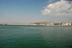 Seascape of island Corfu Stock Photography