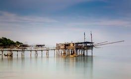 Seascape: Italien Abruzzo, S Vito Chietino Arkivfoton
