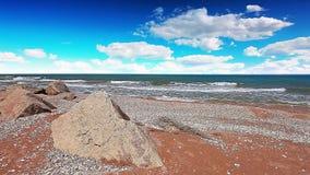 Seascape. 4K. ΠΛΗΡΕΣ HD, 4096x2304. απόθεμα βίντεο
