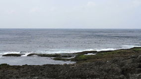 Seascape in Kenting National Park, Taiwan. HD stock video