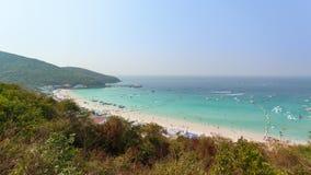 Seascape from koh larn island, pattaya city, Thailand Royalty Free Stock Photos