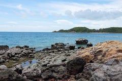 Seascape of koh larn thailand Royalty Free Stock Image