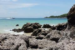 Seascape of koh larn thailand Stock Photography