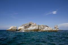Seascape με το μικρό νησί, Koh Lipe, Ταϊλάνδη Στοκ Φωτογραφίες