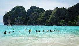 Seascape Koh Phi Phi, Ταϊλάνδη Στοκ φωτογραφία με δικαίωμα ελεύθερης χρήσης