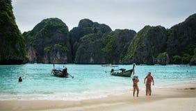 Seascape Koh Phi Phi, Ταϊλάνδη Στοκ Εικόνες