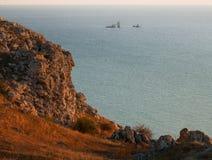 Seascape krajobraz Obraz Stock
