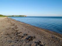 Seascape Landscape Background Denmark Stock Photo
