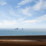 Seascape landscape Royalty Free Stock Images