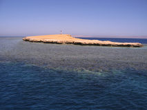 Seascape. Landscape of the Red Sea coral reef Stock Image