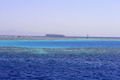 Seascape. Landscape of the Red Sea coral reef Royalty Free Stock Image