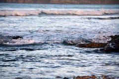 Seascape from Lanzarote. Caleta de Famara beach.Canary Island. Spain. Stock Photo