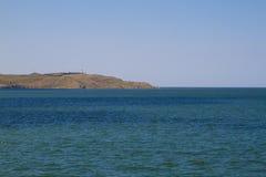 Seascape. Lighthouse Stock Photo
