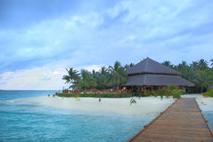 Seascape of Maldives Stock Photo