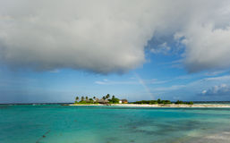 Seascape of maldives island Stock Photography