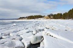 Seascape, mar branco, Rússia Fotos de Stock Royalty Free
