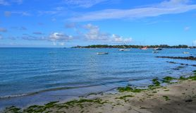 Seascape Mauritius wyspa Obraz Stock
