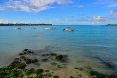 Seascape Mauritius wyspa Fotografia Royalty Free