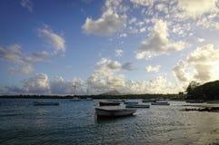 Seascape Mauritius wyspa Zdjęcie Stock